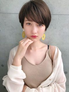 人気のマッシュショート in 2020 Short Hairstyles For Women, Cool Hairstyles, Androgynous Haircut, Asian Short Hair, Charles And Diana, Edgy Hair, Hot Hair Styles, Hair Images, Asia Girl