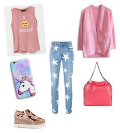 """""""St M"""" by katrinastarring on Polyvore featuring STELLA McCARTNEY, Poolhouse and Chicwish"""
