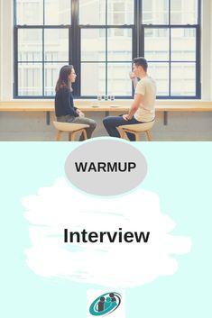 Das Interview ist eine sehr effiziente Methode, sich zu Beginn eines Workshops kennen zu lernen _________________________________________________ #tools #toolbox #workshops #warmup #moderation #coaching #coach #berater #seminar #methode #methodenkoffer Pinterest Profile, Interview, Workshop, Coaching, Box, Getting To Know, Training, Atelier, Snare Drum