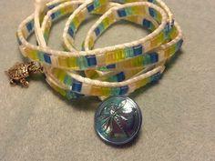 Wrap bracelet. DIY