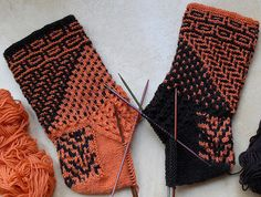 Ravelry: Pien-Ams' Miss Marple November Mystery Socks