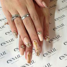 #oscat nails #nail art #nail design