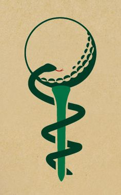 Golf Tournament Logo for the Greater Louisville Medical Society Foundation