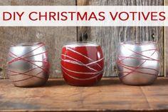 101 Days of Christmas: DIY Christmas Votives