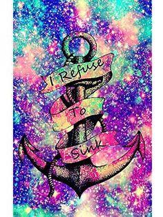 Nautical Wallpaper, Cute Galaxy Wallpaper, Cute Wallpaper For Phone, Pink Wallpaper, Cartoon Wallpaper, Wallpaper Quotes, Wallpaper Backgrounds, Iphone Wallpaper, Pink Anchor Wallpaper