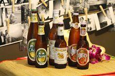 Singha Beer, Chang Beer, Leo Beer. Local Thailand Beer. Thai Beers. Island Info Samui http://www.islandinfokohsamui.com/