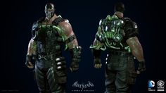 Bane for the game Batman: Arkham Origins.I was responsible of creating high-res and low-res models, textures, materials, blendshapes and damage states.Rendered into Unreal Engine composited into Photoshop.Additionnal credits:Shader system by Erick Bilo Bane Batman, Batman Arkham Origins, Batman Arkham Asylum, Batman Comic Art, Gotham Batman, Batman Comics, Batman Robin, Nightwing, Batgirl
