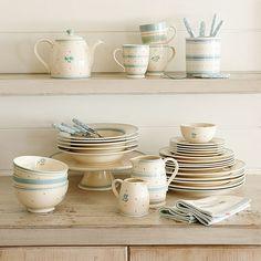 John Lewis dinner set. I do need more dishes.