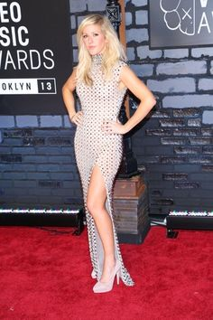 Ellie Goulding in Amato Couture