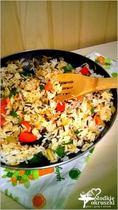 Fried Rice, Cobb Salad, Fries, Yummy Food, Delicious Recipes, Food And Drink, Cooking, Healthy, Ethnic Recipes