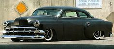 Flat black '54 Chevy Bel Air - another must have for the car park. Some day...Re-pin brought to you by agents of #CarInsurance at #HouseofInsurance in Eugene, Oregon.