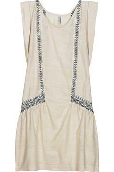 IRO ll raveh embroidered silk dress