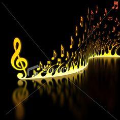 beaucoup de notes de musique mais beaucoup de beau-ter