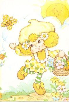 Lemon Meringue And Strawberry Shortcake Strawberry Shortcake Skewers, Strawberry Shortcake Cheesecake, Strawberry Shortcake Characters, Vintage Strawberry Shortcake Dolls, Vintage Toys 80s, Vintage Cartoon, Retro Toys, Decoupage, Happy Cartoon