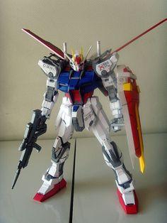 GAT-X105+AQME-X01 Aile Strike Gundam