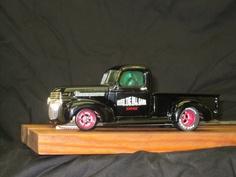 Drag Slot Car built by Sheaves Racing Slots