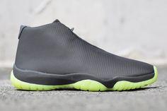 """Air Jordan Future """"Grey/Volt"""" Mesh"""