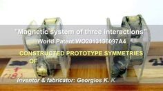 World patent:WO2013136097  Magnetic symmetries of 16 interactions vs kno...