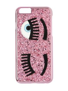 CHIARA FERRAGNI - FLIRTING GLITTER IPHONE 6 CASE - LUISAVIAROMA - LUXURY SHOPPING WORLDWIDE SHIPPING - FLORENCE