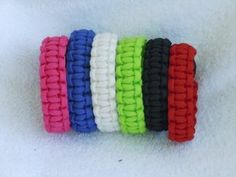 550 Paracord Survival Bracelets (Rainbow Design)  http://electmejewellery.com/jewelry/bracelets/550-paracord-survival-bracelets-rainbow-design-com/