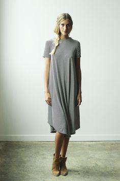Flowing Dress / Clad & Cloth