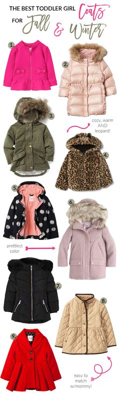 Looking for Toddler Coats for your children? Utah fashion blogger Sandy A La Mode shares her top 9 coats for girls & top 9 coats for boys. Click here now!