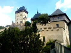 Karlstejn castle, the Czech Republic