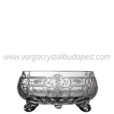 Imperial Clear 3 Footed Bowl 6' 218€