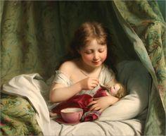 Pintura: Crianças–Galeria 9 | ARTECULTURA