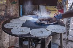Chapatis in the making, in the month of Ramzan, Dongri, Mumbai - India | by Humayunn Niaz Ahmed Peerzaada