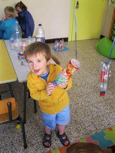 Juf Tamara * De Pooh-klas: Thema: flessen en doppen