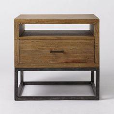 Retro americana de noche de madera maciza IKEA mesa auxiliar de hierro desván grado tabla banda mesa de noche de bombeo mesa de noche en Cierres de Armarios de Mejoras para el Hogar en AliExpress.com | Alibaba Group