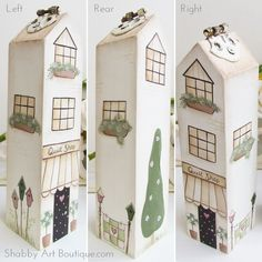 DIY ~ Shabbilicious Village Shops - Shabby Art Boutique