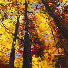 'Canopy' Print Hand Signed By Julie