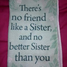 #Sister #Quote