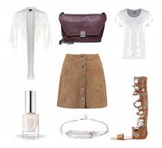 #outfit Lederrock ♥ #outfit #Damenoutfit #outfitdestages #dresslove