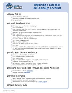 Advertising on Facebook doesn't have to be that hard or that expensive - follow this step by step guide and start generating leads today for $100/mo