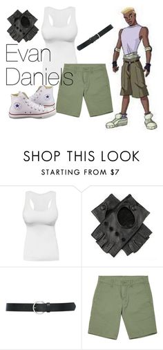 """""""X-Men: Evolution"""" by bebe6121985 on Polyvore featuring Marvel Comics, M&Co and Converse"""