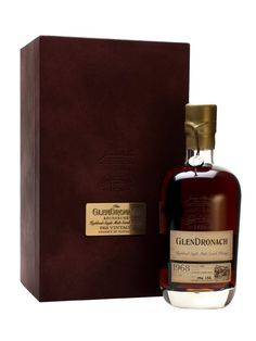 Glendronach 'Recherché' is a 44 year old single cask release.  Bottled from the oldest whisky in the distillery's warehouses at the time of release, this has spent its whole life in an oloroso sher...