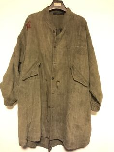 Paul Harnden Shoemakers 20th Century Hemp Oversize Jacket Size US S / EU 44-46 / 1