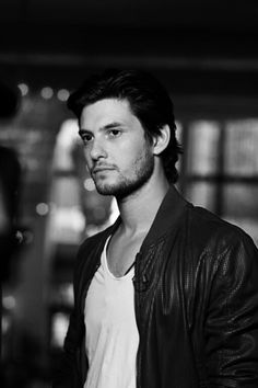 Ben Barnes. (It's honestly a shame this isn't in color. He looks good in red.)