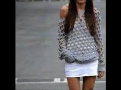 Risultati immagini per blusa crochet