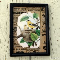 My Heart's Song: Picture Framing Project