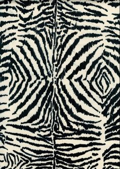 Because every home needs an animal pattern accent, the Jaipur En Casa by Luli Sanchez Hand-Tufted Zebra Ikat Area Rug introduces exotic flair and. Zebra Print, Animal Print Rug, Camo Print, Textures Patterns, Print Patterns, Jaipur Rugs, Textiles, Hand Tufted Rugs, Wool Area Rugs