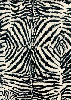 blue zebra by Luli Sanchez