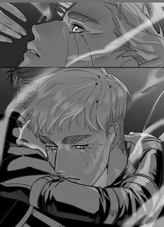 Attack On Titan Ships, Attack On Titan Levi, Anime Guys, Manga Anime, Levi And Erwin, Grunge Boy, Eruri, Anime Love Couple, Namjin