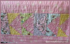 Border of the pink quilt