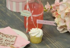 Decorative Ribbon and Straws - Mother's Day
