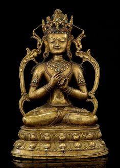 Vairocana, Tibet, 14th century, bronze