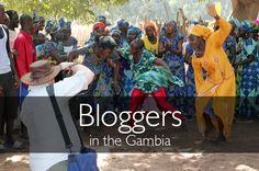 Photographers from two bloggers' press trips to The Gambia